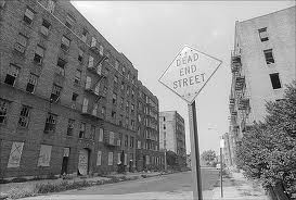 south bronx with sign