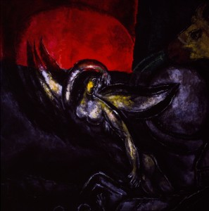 angel of death chagall